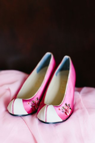 pink-satin-shoes-with-rose-applique