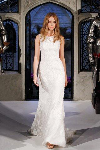 oleg-cassini-spring-2018-wedding-dress-high-neck-sleeveless-lace-gown-scoop-neck