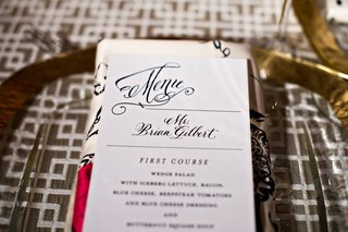 wedding-dinner-menu-with-personal-name-tags