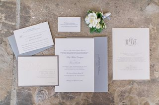 neutral-wedding-invite-suite-with-grey-and-white-colors-and-monogram