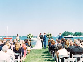 wedding-ceremony-outdoor-summer-river-boats-on-water-nautical-theme-coastal