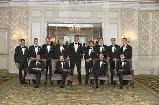 groom-in-chicago-hotel-ballroom-with-friends