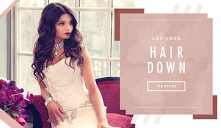 how-to-wear-your-hair-down-on-your-wedding-day