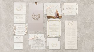 wedding-monogram-on-wedding-invitation-suite-items-gold-details-white-stationery-save-the-date-photo