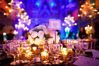 wedding-reception-table-with-broadway-musical-name
