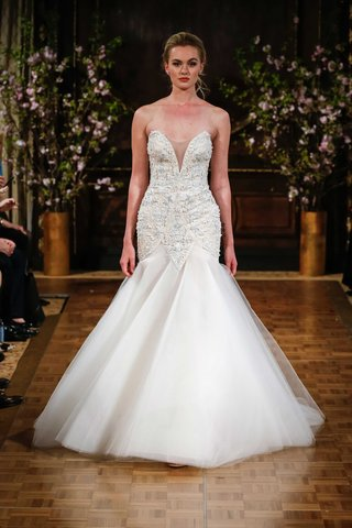 isabelle-armstrong-spring-2017-shane-wedding-dress-deep-v-neck-fit-and-flare-beading-tulle-skirt