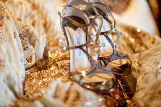 brides-golden-jimmy-choo-heels