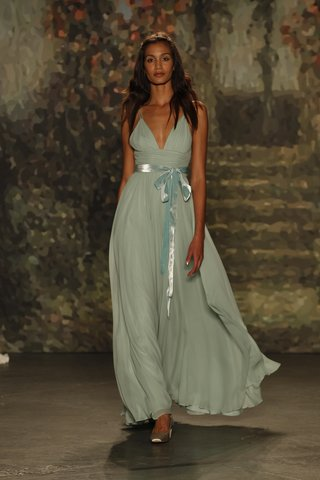 blue-maria-dress-with-plunging-neckline-and-blue-belt-by-jenny-packham