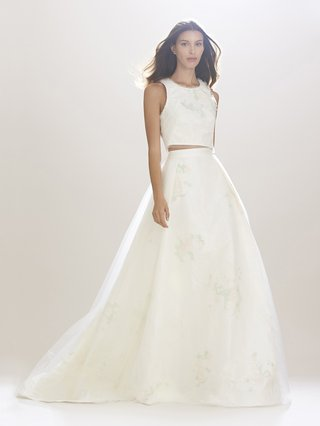 crop-top-tank-wedding-dress-with-ball-gown-skirt-by-carolina-herrera