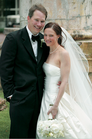 tuxedo-and-strapless-wedding-gown-with-pearls