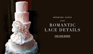 wedding-cake-ideas-from-real-weddings-with-lace-patterns
