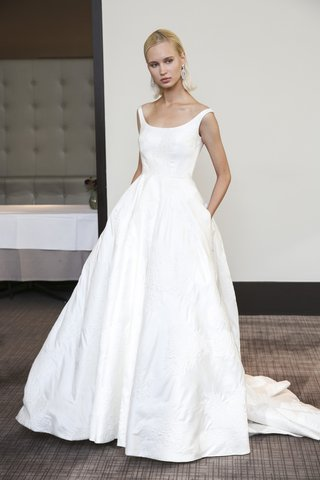 gracy-accad-fall-2018-silk-jacquard-taffeta-off-the-shoulder-neckline-a-line-ball-gown-with-pockets