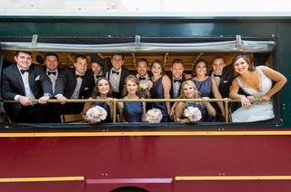 bridal-party-transportation-on-chicago-trolley-wedding-party-ride-on-trolley
