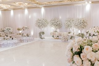 classic-all-white-wedding-with-cherry-blossom-trees-white-dance-floor
