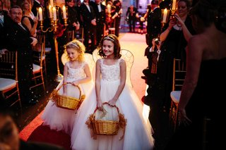 flower-girl-in-white-sleeveless-matthew-christopher-designed-dresses-and-wing