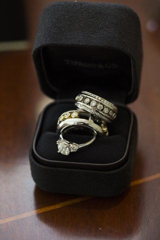 tiffany-co-engagement-ring-and-custom-bands