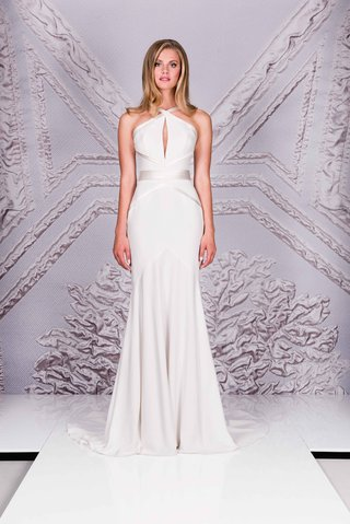 suzanne-neville-25th-anniversary-portrait-collection-2017-rossetti-sheath-wedding-dress-satin-bands
