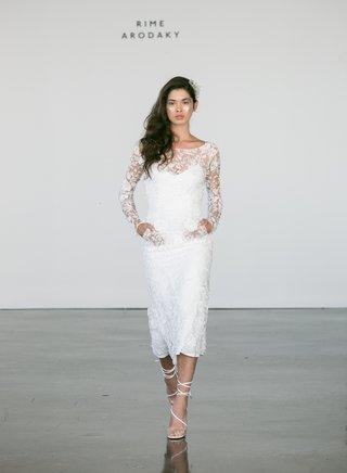 rime-arodaky-fall-2017-bridal-salinger-long-sleeve-wedding-dress-tea-length-lace-pockets-sleeves