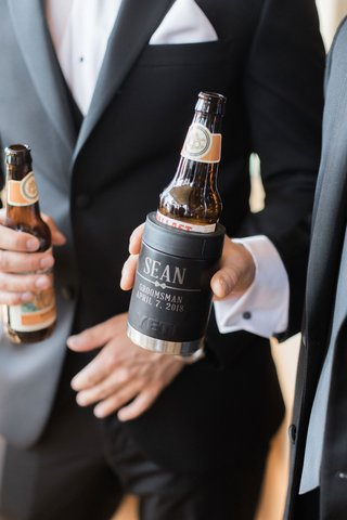 wedding-gift-idea-for-groomsmen-customized-yeti-beer-coolers-koozies