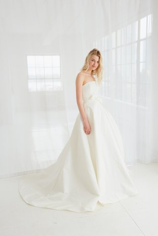 reed-by-amsale-spring-2018-silk-faille-strapless-ball-gown-with-bow-detail-at-waist