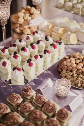 wedding-reception-dessert-table-persian-pastries-for-dessert-on-table-with-signage