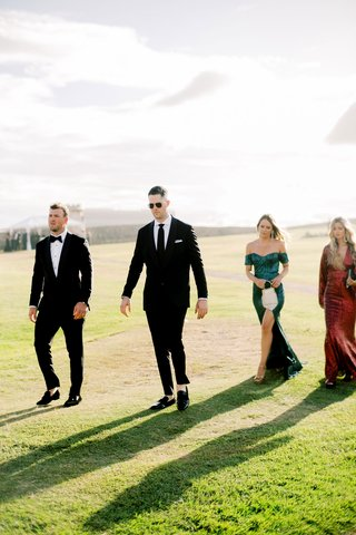 mariana-vicente-kike-hernandez-wedding-guests-baseball-players-cincinnati-reds-alex-wood-kyle-farmer