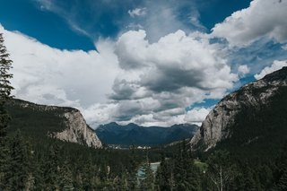 banff-national-park-wedding-pine-forest-mountain-views