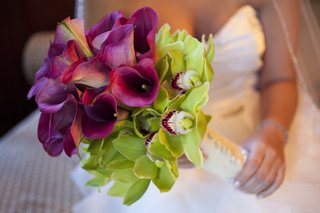 purple-calla-lily-and-green-orchid-wedding-bouquet