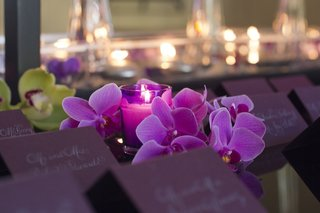 laura-hooper-calligraphy-purple-escort-cards