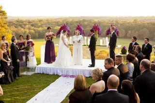 female-officiant-at-outdoor-landscape-wedding