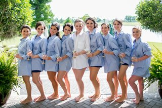 bride-in-a-white-button-down-shirt-bridesmaids-in-light-blue-monogrammed-button-down-shirts