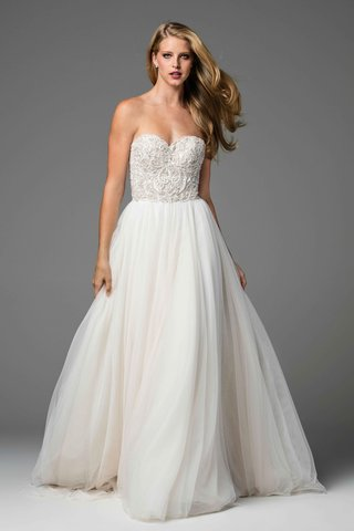 watters-2017-bridal-collection-rosina-strapless-wedding-dress-beaded-bodice-and-tulle-a-line-skirt
