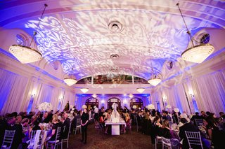 domed-ballroom-with-floral-gobo-lights-on-ceiling