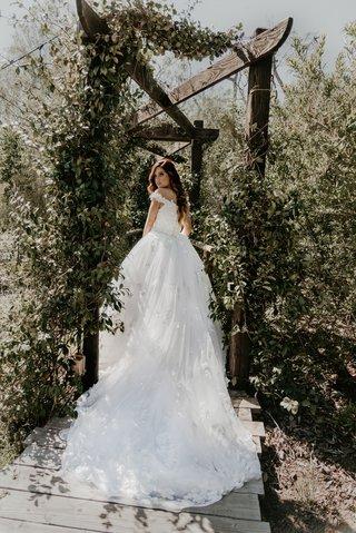 echosmith-singer-sydney-sierota-and-cameron-quiseng-wedding-dress-at-garden-venue-in-escondido-ca