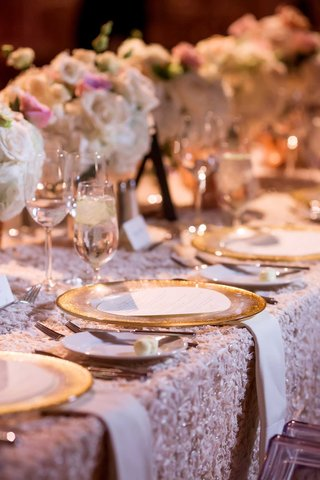 gold-rimmed-chargers-textured-linens-pink-classic-dallas-texas-feminine-color-palette-traditional