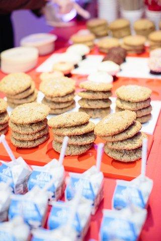 wedding-favors-of-sprinkles-cookies-and-milk
