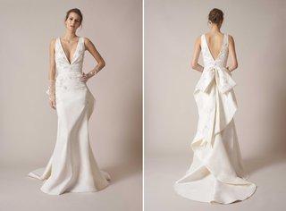 sachin-babi-spring-summer-2017-debut-bridal-collection-v-neck-v-back-wedding-dress-embroidery