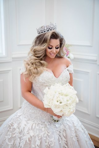 wedding-portrait-ashley-alexiss-drop-waist-ball-gown-long-hair-curls-tiara-with-pretty-makeup