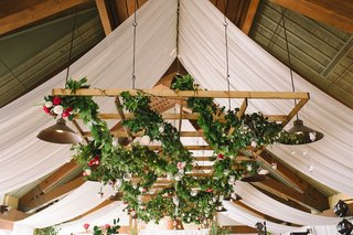 ivory-drapery-from-a-line-ceiling-and-garlands-of-ivy