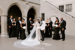 r-b-singer-tank-with-groomsmen-jamie-foxx-and-j-valentine-bridesmaids-in-black-off-the-shoulder