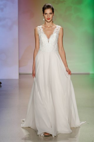 sleeping-beauty-a-line-gown-featuring-v-shaped-neckline-adorned-with-venise-lace-crystal-beading