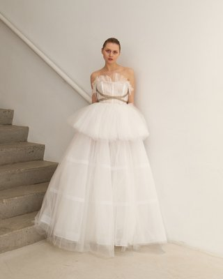 francesca-miranda-spring-2019-bridal-collection-noella-tulle-ball-gown-removable-tutu-peplum-skirt