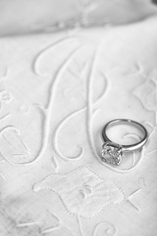 black-and-white-photo-of-solitaire-diamond-engagement-ring