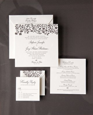 square-stationery-suite-with-leaf-motif