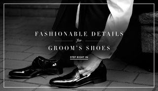 black-and-white-photos-of-groom-lacing-patent-leather-dress-shoes