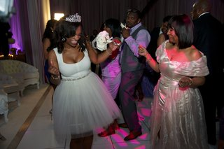 kandi-burruss-with-wedding-guests-in-short-bridal-gown-and-tiara