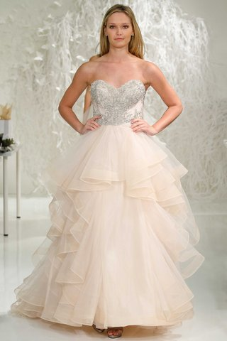 watters-2016-blush-pink-wedding-dress-with-silver-beaded-bodice-sweetheart-neckline