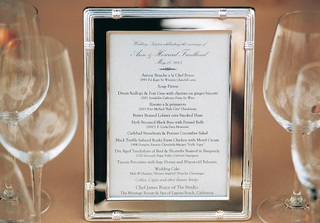 white-and-black-menu-in-silver-frame