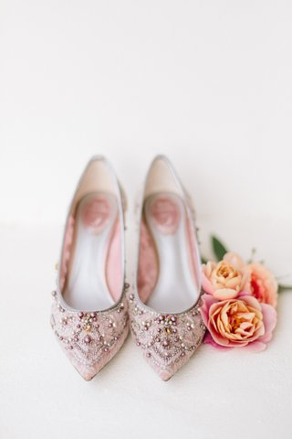 rene-caovilla-bridal-shoes-blush-shoes-with-pink-pearl-gold-and-silver-beading