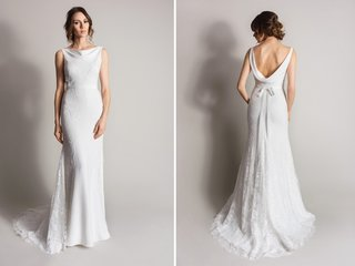 sheath-wedding-dress-with-cowl-neck-and-back